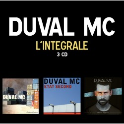PACK 3 ALBUMS DUVAL MC