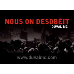 LOT DE 2 STICKERS - DUVAL MC