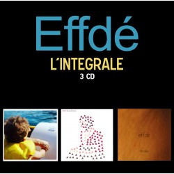 PACK 3 CD EFFDE